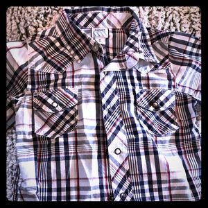 Old Navy western style boys shirt 4T
